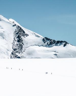 Lin har spenderat stora delar av försäsongen i Schweiz och kameran finns alltid med. Denna bild har hon fotat i Zermatt, Schweiz. Foto: Lin Ivarsson
