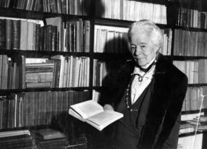 Författaren Selma Lagerlöf debuterade 1891 med romanen Gösta Berlings saga . Arkivbild.