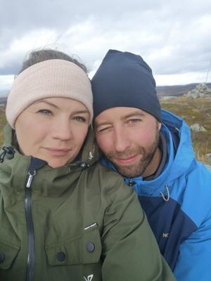 Mikaela Larsson Rosén och Fredrik Brunnsberg.