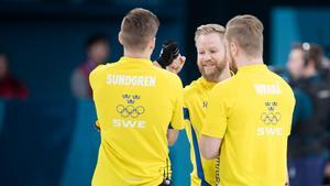 Sverige tog en ny seger med lag Edin när Kanada besegrades med xx. Bild: Jan Olav Nesvold/Bildbyrån.