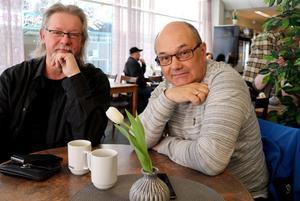 Leif Jonsson och Håkan Strandell är på jakt efter unga kulturutövare.