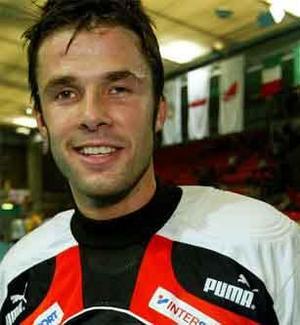 Gunnar Domeij från VM 2006. Foto: Svenska Innebandyförbundet