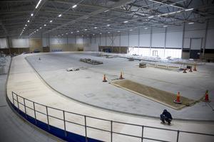 Den nya multisporthallen ligger vid Södertälje IP.