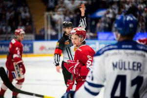 Jonathan Dahlén blev, återigen, segerorganisatör för Timrå i den andra finalmatchen mot Leksand.