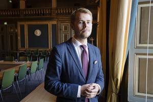 William Elofsson (M), kommunalråd i opposition.