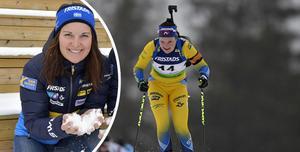 Johanna Skottheim tog sina första världscuppoäng (28 stycken) på onsdagen.
