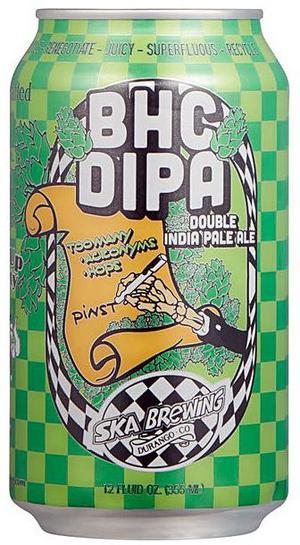 Ska Brewing BHC DIPA.
