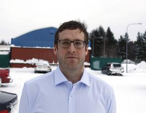 Jan Eriksson, avdelningschef väg och trafik på kultur och teknikförvaltningen i Timrå.
