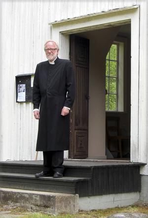 Lars Eriksson avgår i höst med pension så detta var hans sista resa till Lungön som kyrkoherde.