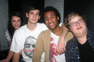 Silk. Kristina, Elliot, George och Hannes