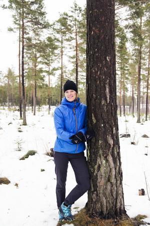 Kajsa Hedin är sjukgymnast på Sundsvalls sjukhus.