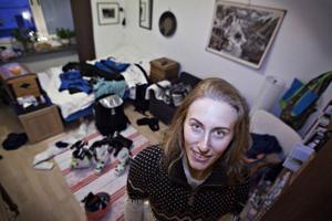 Åreidag träffade Kajsa Kling hemma hos mamma i Åre när hon var hem och vände en sväng mellan tävlingarna i Lake Louise och St Moritz.