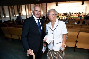 Mary och Erik Lindeberg har haft abonnemang på Orkesterföreningens konserter i många år.
