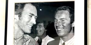Clint Eastwood och Ingemar Stenmark.