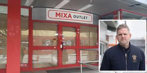 Nya butiken ska heta Mixa outlet.