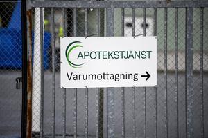 Apotekstjänst AB i Uppsala. Foto: Pontus Lundahl / TT