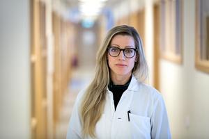 Sara Hogmark är mödrahälsovårdsöverläkare på Falu lasarett.