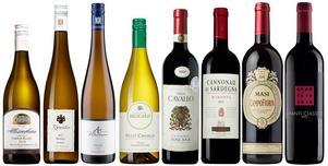 Åtta utmärkta vinval i Systemets fasta sortiment i prislägen från 99 kronor till 154. Samtliga klara fynd i relation kvalitet och prislapp.