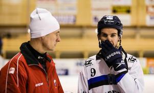 Mats och Mattias Hammarström säsongen 2014/2015 då Mattias gjorde en avstickare och spelade för Sirius.