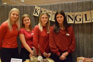 Alexandra Lorentzen, Ida Thunman Törnberg, Daniella Johansson och Tilda Olsson går ekonomiprogrammet och driver tillsammans Kustenglas UF.