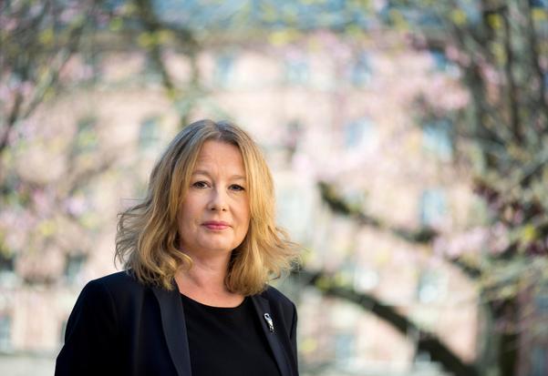 Åsa Linderborg, Aftonbladets kulturchef, slår med Göran Greider ett slag för populismen. Foto: Pontus Lundahl / TT