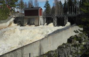 Enorma krafter är satta i rörelse  i samband med vårens snösmältning. Nu varnar Falu kommuns säkerhetschef  för att vistas i närheten av vattendragen - oavsett om det handlar om mindre bäckar, sjöar eller kraftstationer.