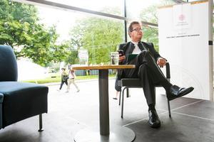 Stig-Björn Ljunggren är forskare vid Uppsala universitet, men uppväxt i Norrsundet. Bild: Erik Engelro.