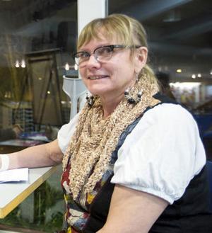 Skribenten – och konstdetektiven – Marianne Helgesson. Arkivbild.