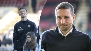 Arvid Brorsson har hittills nobbat ÖSK-manager Axel Kjälls försök att förlänga talangens kontrakt. Men Brorsson säger att han absolut är öppen för en fortsättning i klubben.
