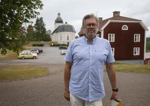 Kyrkoherde Jan Bonander ingår i kommunens krisgrupp