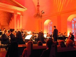 Dalasinfoniettan har varit  flitig under hela Vinterfest med en rad verk.Foto: Linda Hellstrand