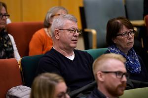 Anders Pålsson från Bydalen var en av de villaägare som hade synpunkter på kommunens arbete i vinter.