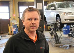 Genom flytten över riksvägen från Nedre till Övre Tjärna i Gagnef har Lars-Göran Andersson företag fått tillgång till rymligare och mer ändamålsenliga lokaler.