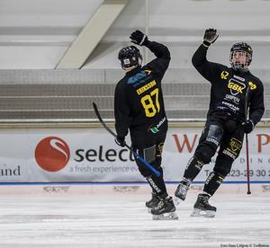 Gripen går fortsatt starkt – tre raka segrar under inledningen av allsvenskan. Bild: Hans Löfgren/Gripen Trollhättan BK