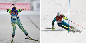 Hanna och Öberg och André Myhrer hör båda till världseliten i sina respektive sporter. Men det är sporter med rejält olika ekonomiska förutsättningar.
