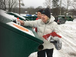 Nu byggs återvinningscentralen i Skultorp om, så då får Skultorpsborna lämna sin återvinning vid andra stationer eller centraler.