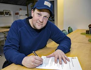 Björn Forsberg, tidigare assisterande tränare, är numera en del av Västanfors sportgrupp. Foto: Jörgen Hjärpe/Västanfors Bandy