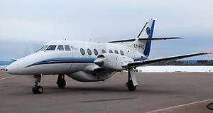 AIS Airlines små plan kommer inte längre att trafikera Dala Airports start- och landningsbana. Foto: Dala Airport