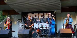 Rockin' Boys vann nyligen Millners rock- och popbandstävling.