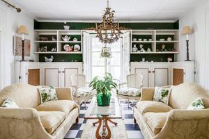Ett av vardagsrummen. Foto: Carlsson Ring