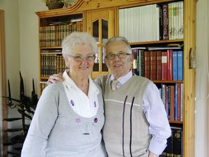 Astrid och Göran Ivarsson firar guldbröllop.