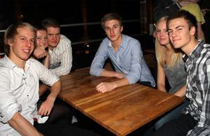 Silk. Erik, Tove, Hackan, Ratten, Ann-Sofie och Tobbe boy