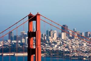 San Francisco är den näst mest tätbefolkade staden i USA.