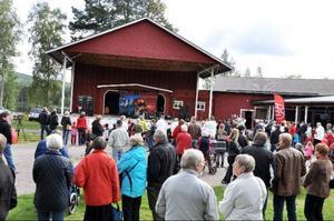 LO:s familjedag drog mycket folk till Storön i Sveg.