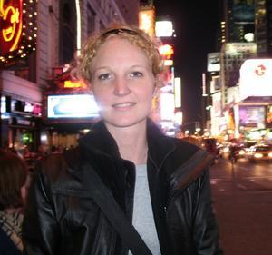 Annelie Sahlström, Gävle, fyller 30 år i dag.