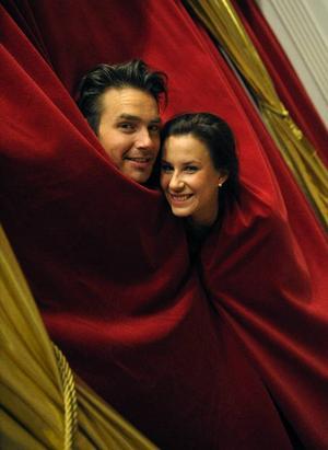 """Mattias Andréasson har med hjälp av Cecilia Ehrling vunnit juryns hjärta i """"Let's dance"""".  Foto: Scanpix"""