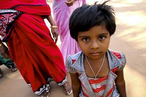 Varma, vänliga och färggranna - så är många människor i Goa.