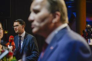 Det är inte för att Stefan Löfvens politiska ideal börjat sammanfalla med Jimmie Åkessons som regeringen nu skärper flyktingpolitiken.