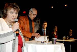 Kommunalrådet AnnSofie Andersson (S) deltog i hyresdebatten.