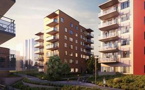 De nya lägenheterna utgör etapp tre med beräknad inflyttning 2020.